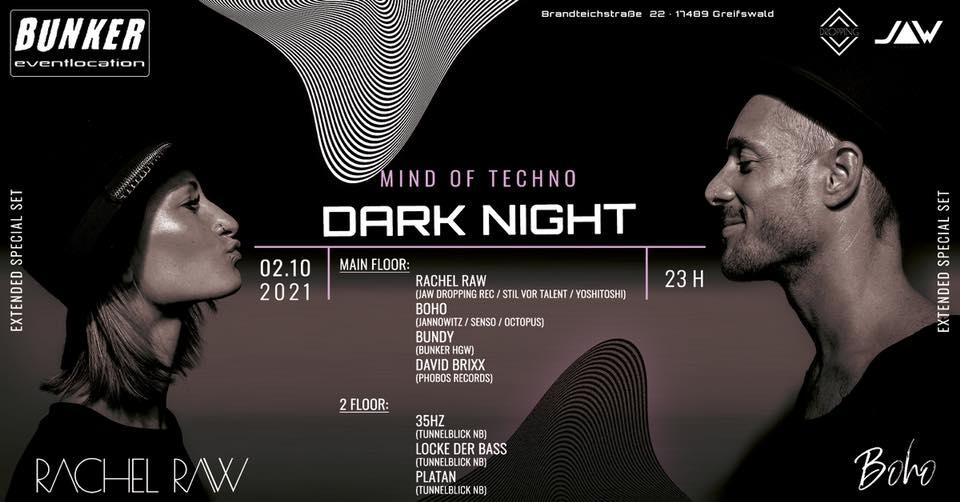 DARK NIGHT - 2.10. - ab 23:00 Uhr